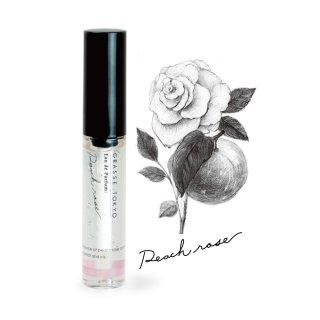 南仏グラース〜東京へ。 GRASSE TOKYO Eau de Parfum/ ジェル香水 Peach rose