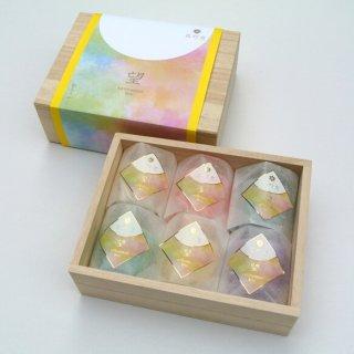 花灯窓 望 BOU 6種桐箱入りギフト/ほのかな香りの和蝋燭 /季節のめぐりを灯りと香りで楽しむ