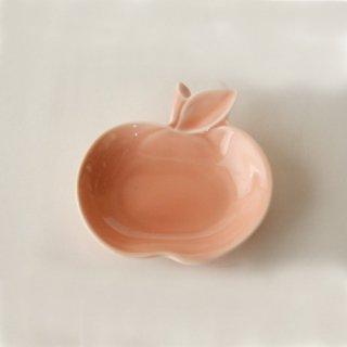 apple リンゴ小皿 桃 pink / miyama