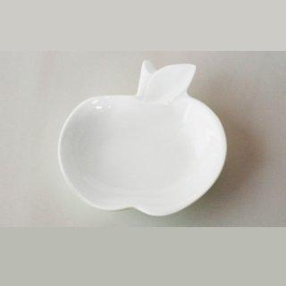 apple リンゴ小皿 白磁 white / miyama