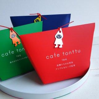 cafe tonttu tee アップル&ローズ紅茶(赤)/ティーバッグ5包入り