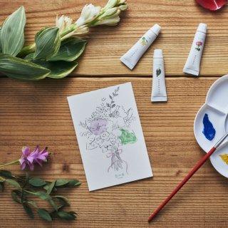 GRASSE TOKYO 香の具 ポストカード/ 花束