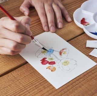GRASSE TOKYO 香の具 ポストカード/ フラワー