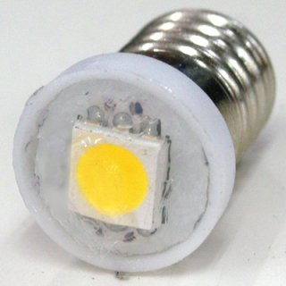 フラットLED豆電球 口金:E10 DC用(100個入り)