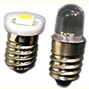 ワイド電圧(5V〜36V) フラットLED豆電球 口金:E10 AC/DC電圧