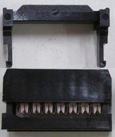 フラットケーブル用圧接ソケット (1.27ピッチフラットケーブル用)  FC−14P