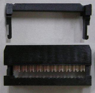 フラットケーブル用圧接ソケット (1.27ピッチフラットケーブル用)  FC−20P