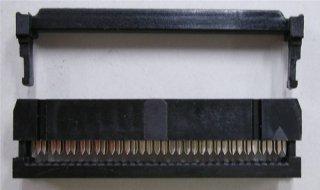 フラットケーブル用圧接ソケット (1.27ピッチフラットケーブル用)  FC−34P