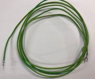 アース線ケーブル 2M(両端アース端子付)