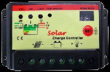 10Aソーラーコントローラー 12V/24V PWM-10A24DX