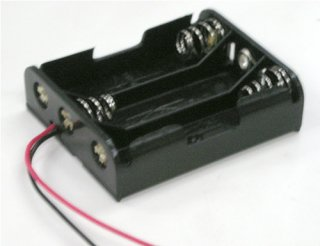 電池ボックス 単3×3リード線付き