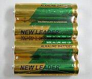 アルカリ電池単3 1.5V・2500mAh(4個セット)