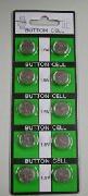 アルカリ電池 LR43 1.5V・115mAh(10個セット)