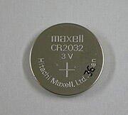 リチウム電池 CR2032(日立マクセル製)