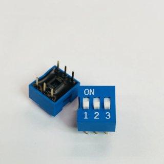 金メッキディップスイッチ DC03