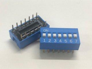 金メッキディップスイッチ DC07