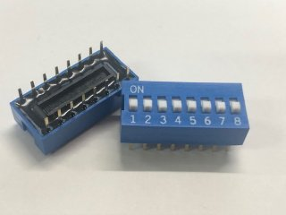金メッキディップスイッチ DC08