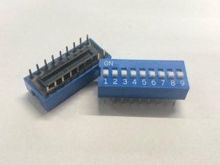 金メッキディップスイッチ DC09