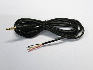 3.5mmステレオプラグ付きケーブル・1.8M
