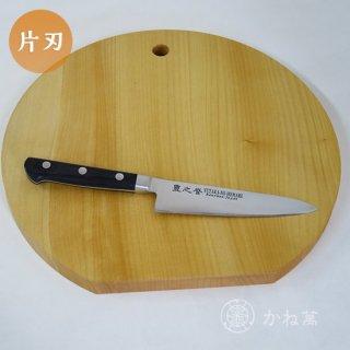 キッチンギフトセット (「宝珠」 ペティ130[桐箱入り]/まな板[丸型]30cm)【イチョウ】