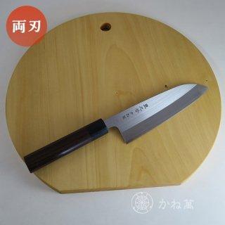 キッチンギフトセット (「紫檀」 三徳165[桐箱入り]/まな板[丸型]35cm)【イチョウ】