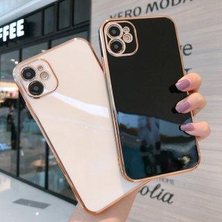予約 8color 8type ゴールドフレーム アイフォン ケース 携帯