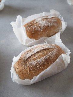 全粒粉100%糀パン(レギュラー2個)
