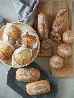 2種の十勝産小麦 生糀パンお試し11個セット 【ゆめきらりとゆめちから(全粒粉)】 送料込みセット