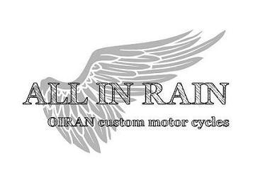 ALL-IN-RAIN    OIRAN CUSTOM MOTORCYCLES   Harley bike parts