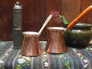 トルコ コーヒー鍋 ジェズベ(銅)