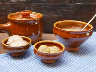 スペイン ブーニョ窯 スープボウル