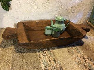 インド 四角のこね鉢