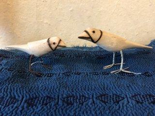 インド 白木の鳥
