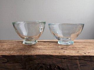 イランの手吹きガラス 小鉢