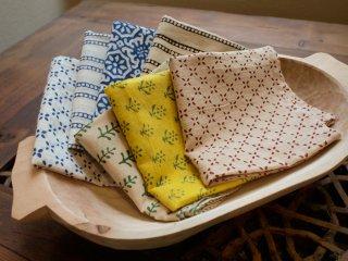 インド 木版染めのスカーフ
