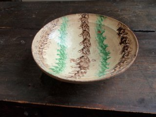 アフガニスタンの縄目三彩古鉢 I