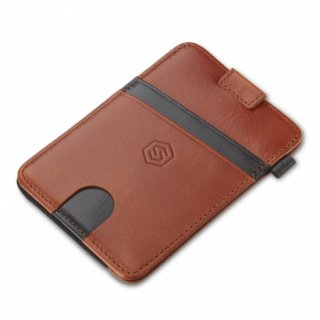 STRAPO WALLET ブラウンストライプ<img class='new_mark_img2' src='https://img.shop-pro.jp/img/new/icons61.gif' style='border:none;display:inline;margin:0px;padding:0px;width:auto;' />