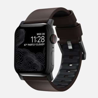【Apple Watch Series 6/SE/5/4/3/2/1対応】NOMAD Active Strap Pro モカブラウン(ブラック金具)42mm/44mm<img class='new_mark_img2' src='https://img.shop-pro.jp/img/new/icons5.gif' style='border:none;display:inline;margin:0px;padding:0px;width:auto;' />