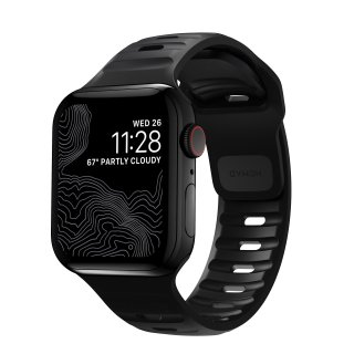 【Apple Watch Series 6/SE/5/4/3/2/1対応】NOMAD Sport Strap 2 ブラック 38mm/40mm<img class='new_mark_img2' src='https://img.shop-pro.jp/img/new/icons5.gif' style='border:none;display:inline;margin:0px;padding:0px;width:auto;' />