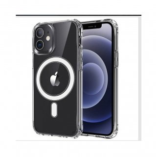 iPhone12 Pro mini Max 高透明度 Magsafe対応ケース マグネット内臓 TPU ケース