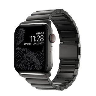 【Apple Watch Series 6/SE/5/4/3/2/1対応】NOMAD Metal Mirror Band グラファイト 42mm/44mm<img class='new_mark_img2' src='https://img.shop-pro.jp/img/new/icons5.gif' style='border:none;display:inline;margin:0px;padding:0px;width:auto;' />