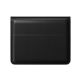 NOMAD Horween Leather Card Wallet Plus ブラック<img class='new_mark_img2' src='https://img.shop-pro.jp/img/new/icons5.gif' style='border:none;display:inline;margin:0px;padding:0px;width:auto;' />