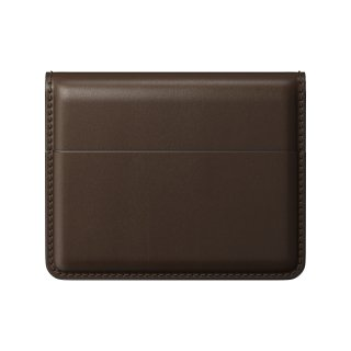 NOMAD Horween Leather Card Wallet Plus ブラウン<img class='new_mark_img2' src='https://img.shop-pro.jp/img/new/icons5.gif' style='border:none;display:inline;margin:0px;padding:0px;width:auto;' />