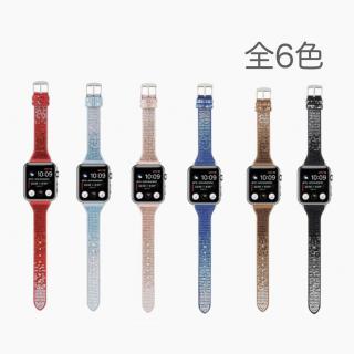 AppleWatch38/40/42/44用デコレーションバンド  全6色