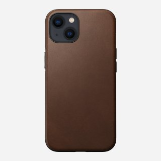 【9月30日入荷予定分先行ご予約販売】NOMAD Modern Leather Case for iPhone 13 ブラウン<img class='new_mark_img2' src='https://img.shop-pro.jp/img/new/icons5.gif' style='border:none;display:inline;margin:0px;padding:0px;width:auto;' />