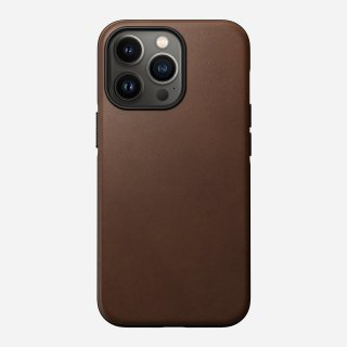 NOMAD Modern Leather Case for iPhone 13 Pro ブラウン<img class='new_mark_img2' src='https://img.shop-pro.jp/img/new/icons5.gif' style='border:none;display:inline;margin:0px;padding:0px;width:auto;' />