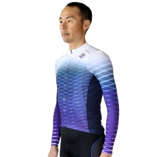 <img class='new_mark_img1' src='https://img.shop-pro.jp/img/new/icons5.gif' style='border:none;display:inline;margin:0px;padding:0px;width:auto;' />BIORACER RACE 長袖ジャージ ボディーフィット-WHT