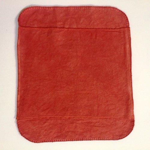 手縫い茜染め布ナプキン(大)単品