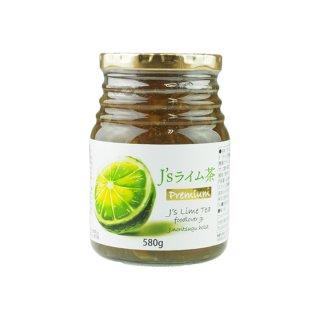 料理研究家・J.ノリツグさんプロデュースJ's ライム茶580g(プロが選んだライム茶580g瓶入り×1本)【送料無料】 常温便・クール冷蔵便可
