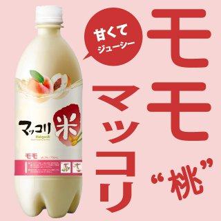 麹醇堂(クッスンダン)米マッコリ もも味750ml 桃マッコリ マッコルリ 常温便・クール冷蔵便可